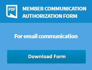 Member Communication Authorization form - For email communication